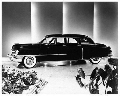 1952 Cadillac Series 75 Limousine Factory Photo ca2753