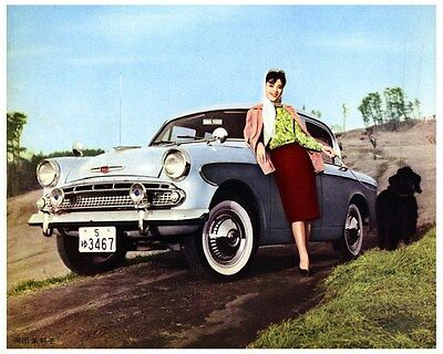 1960 Isuzu Hillman Factory Photo ca2776