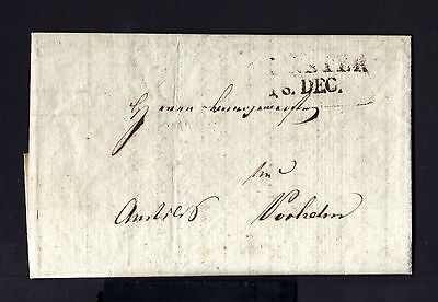 4691-GERMANY-PRE-PHILATELIC COVER LETTER MUNCHEN to NORDHEIM?.1821.CARTA ALEMANI