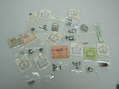 15 Pcs Colonial Craftsmen Pewter Dollhouse Miniatures ~ Great Asst Lot All Mint!