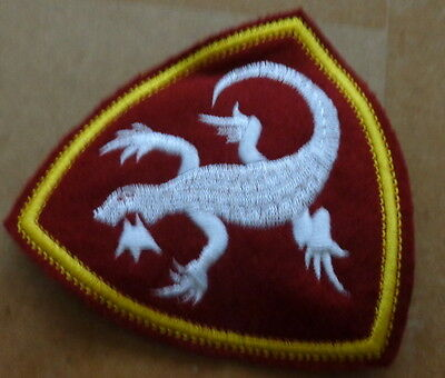 Russian  INTERIOR TROOPS  lizard  embroided   patch  #413 sasa