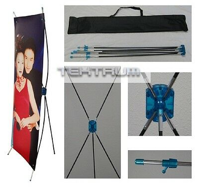 "24""x63"" TRIPOD X BANNER STAND (1-PIECE) DISPLAY"