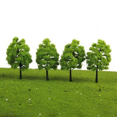 20 Green Tree Ho Oo Model Train Railway Forest Street Diorama Scenery Layout