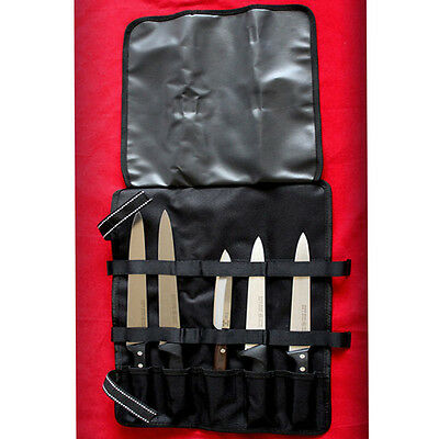 Chef 5 Pocket Chef Knife Roll Bag Case Knife Chef Bag Wallet Cutlery Knives NEW