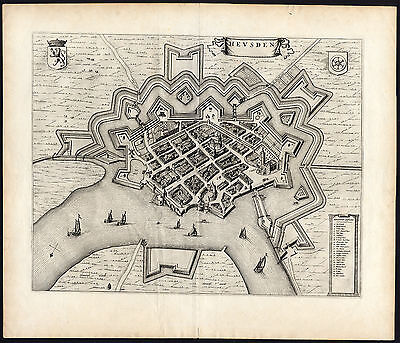 Antique Print-HEUSDEN-Blaeu-1649