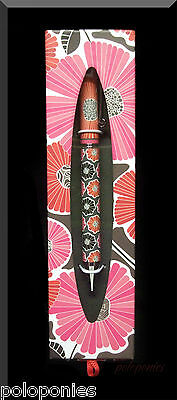 VERA BRADLEY Ball Point Pen - Cheery Blossoms Pattern NIB