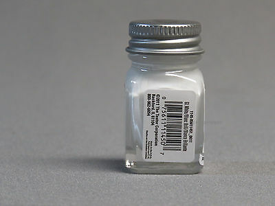 TESTORS PAINT GLOSSY WHITE ENAMEL 1/4oz JAR 7.4ml plastic model car 1145 NEW