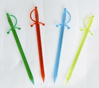 1000 Cocktail Sword Swizzle Sticks Decoration Bar Party Drink Picks Buffet Cake