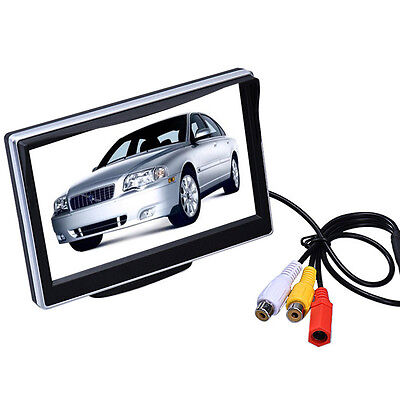 5 Inch 2 Video Digital Input TFT-LCD Screen Panel Color Car Rear View Monitor