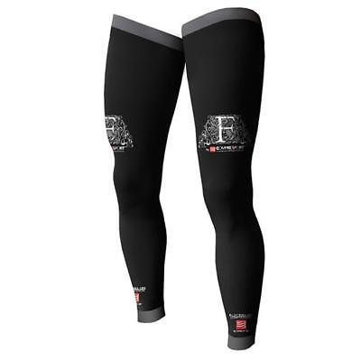 Compressport 2015 Motocross / MTB Socken - FULL LEG COMPRESSION SOCKS - schwarz