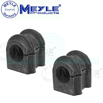 2x Meyle Germany Anti Roll Bar Bushes Front Axle Left /& Right No 100 411 0034
