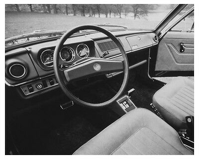 1972 Austin Marina Two Door GT Interior Automobile Factory Photo ch8590