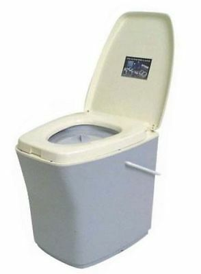 Elsan Bristol 21lt Camping Toilet camping home/elderly removable bucket with lid