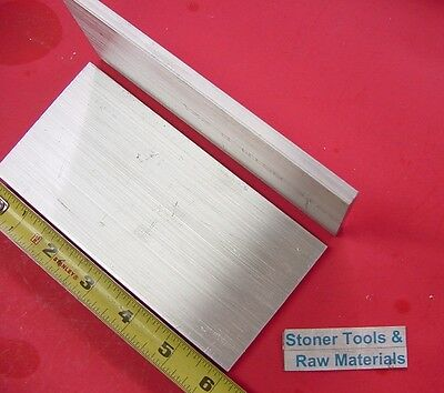 "12 pieces 1/4"" X 3"" ALUMINUM 6061 FLAT BAR 6"" long T6511 SOLID Plate Mill Stock"