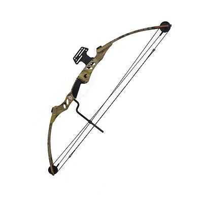 Wizard 55lbs Draw Length 29'' Right Hand Compound Bow 220 FPS Full Autumn Camo