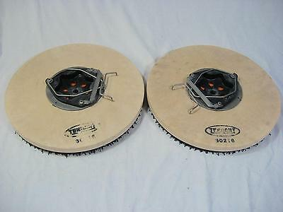 Lot of 2 Tennant 30216 & 65725 Pad Driver Scrub Brush