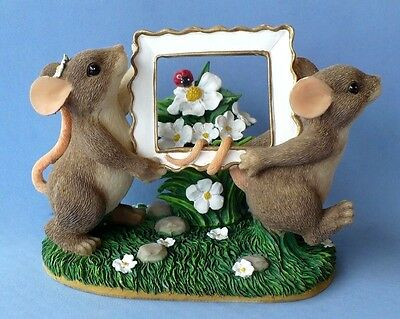 """Vintage Charming Tails """"picture Perfect"""" Figurine Fitz And Floyd"""
