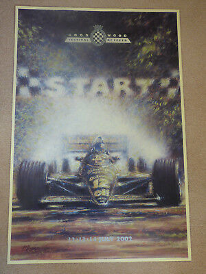 Goodwood Festival Of Speed Original  Poster 1997