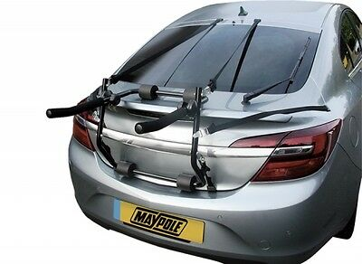 Car Van Estate Rear Mounted 2 Bike Bicycle Cycle Carrier Rack Mount