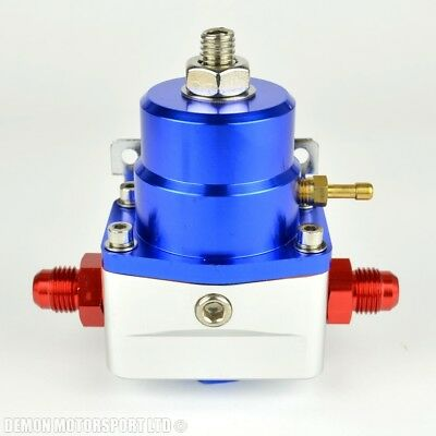 AN6 (AN -6) FPR Fuel Pressure Regulator Blue With 6AN Fittings 100 Psi 1:1