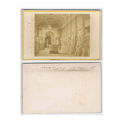 CDV Photograph Statues in the Vatican Museum Carte de Visite