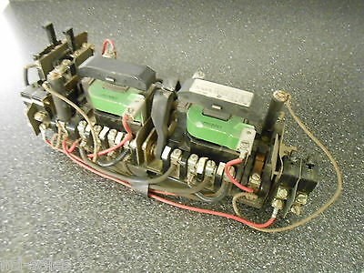 General Electric Ge Size 1 Cr109S000Dma Xf-Xr 4 Pole Reversing Contactor