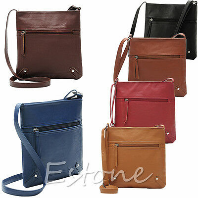 Hot Sell New Fashion Women Shoulder Handbag Faux Leather Satchel Cross Body Bag