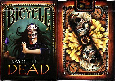 Day of the Dead Deck Bicycle Playing Cards Poker Size USPCC Limited Edition New