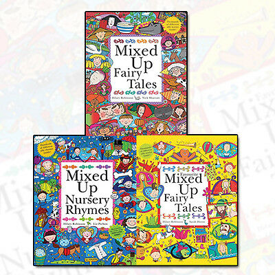 Hilary Robinson Collection Mixed Up Series 3 Books Set Mixed Up Fairy Tales NEW