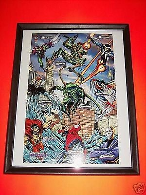Fleer Amazing Spiderman 94' Masterprints Enemies 4