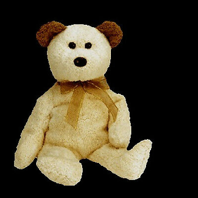TY Beanie Baby HUGGY the TEDDY BEAR Bean Bag Plush Retired Soft New MWMT w/Tag!