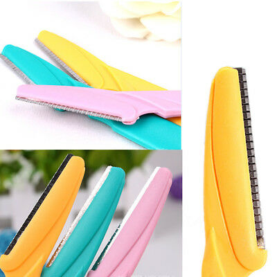 New Womens Ladies Makeup Facial Lip Hair Eyebrow Razor Trimmer Blade Shaver Tool