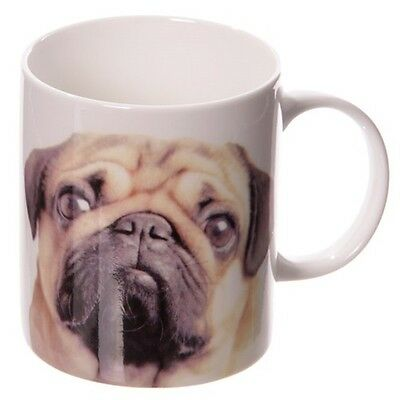 Hunde Tasse Mops Pug and Kisses Kaffebecher Kaffeetasse Teetasse Kaffee Hund dog