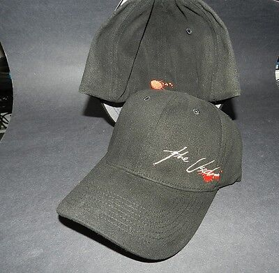 THE USED - black adjustable strap ball cap NEW One size fits most BIO DOMES