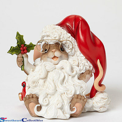 Charming Tails 4046949 Looking?Holly Jolly New 2015 Santa