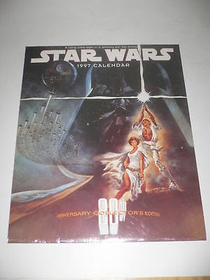 Star Wars 20th Anniversary 1997 '97 Calendar Sealed LOT of 5