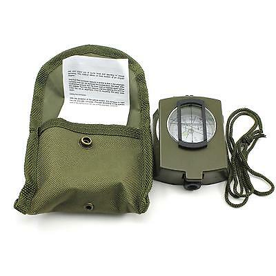New Professional Portable Military Army Navigator Outdoor Camping Hiking Compass