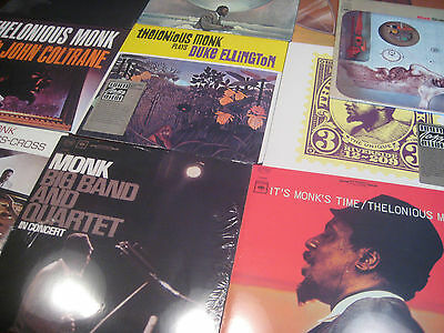 Thelonious Monk Columbia/Sony & Fantasy Records Limited Edition 10Lps No Barcode
