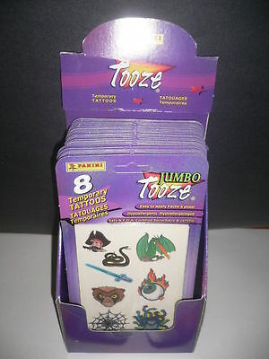 Box of 96 x 8 Temporary Tattoos Party Favors/Loot Bags
