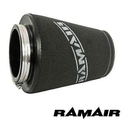 RAMAIR Twin Layer FOAM AIR FILTER UNIVERSAL CONE 70mm NECK HAND MADE IN THE UK