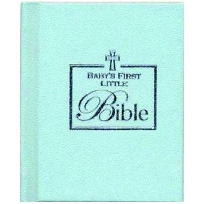 Baby's First Little Bible (Baby Boy - Blue) New