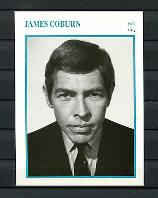Starkarte James Coburn - USA 1965    (ST8)