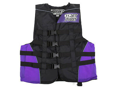 Gilet nylon Matrix Vest Women Black/Purple Jet Pilot - Jetski - wake - PWC