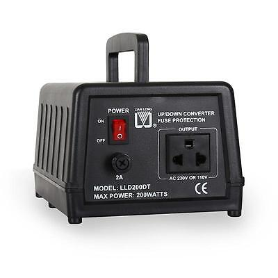Convertidor Transformador De Tension Corriente 220-110V&220-110 200Va 200W