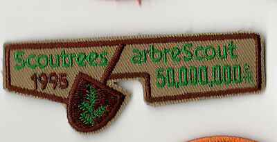 Scoutrees/Trees for Canada Scouts Canada 1995