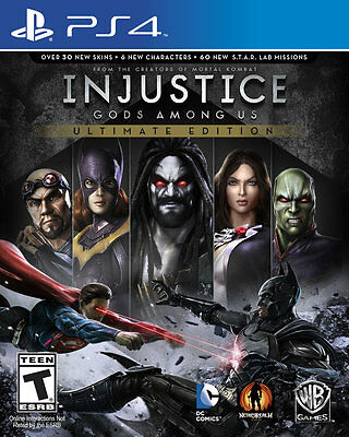Injustice Gods Among Us Ultimate Edition - PS4 Game BRAND NEW SEALED