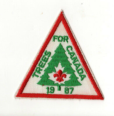 Scoutrees/Trees for Canada Scouts Canada 1987