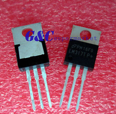 10Pcs Ic Lm317 Lm317T  Voltage Regulator Date Code