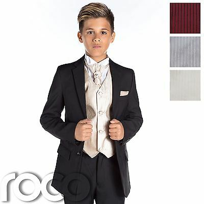 Boys Black Suit, Boys Prom Suit, Slim Fit Suit, Boys Formal Suit, Wedding Suit
