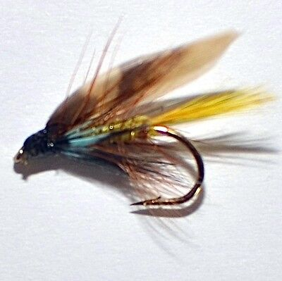 24 Traditional Irish & Welsh Wet Fishing Flies by Dragonflies